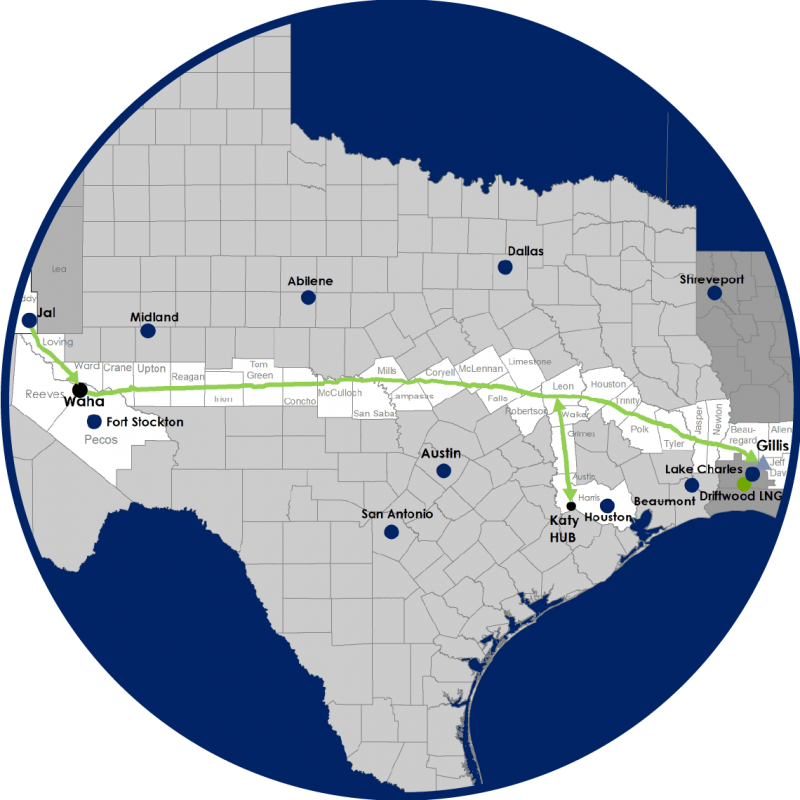 Permian Global Access Pipeline Map